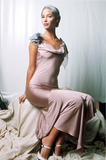 1997 Collection John Galliano Bias Cut Lilac Slip Dress