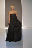 Spring 2000 Yves Saint Laurent by Alber Elbaz Black & White Strapless Dress