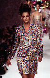 S/S 1995 Todd Oldham Runway Check Dress
