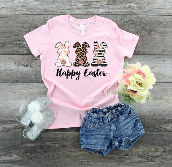 Happy Easter Easter Mommy and Me Shirts