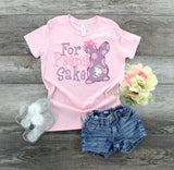 For Peeps Sake Girl Kids Easter Shirts