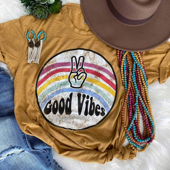 Good Vibes Hippie Shirt