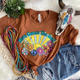 Here Comes The Sun Hippie Shirt