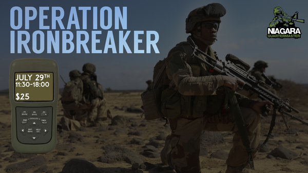 July MILSCRIM - Operation Ironbreaker