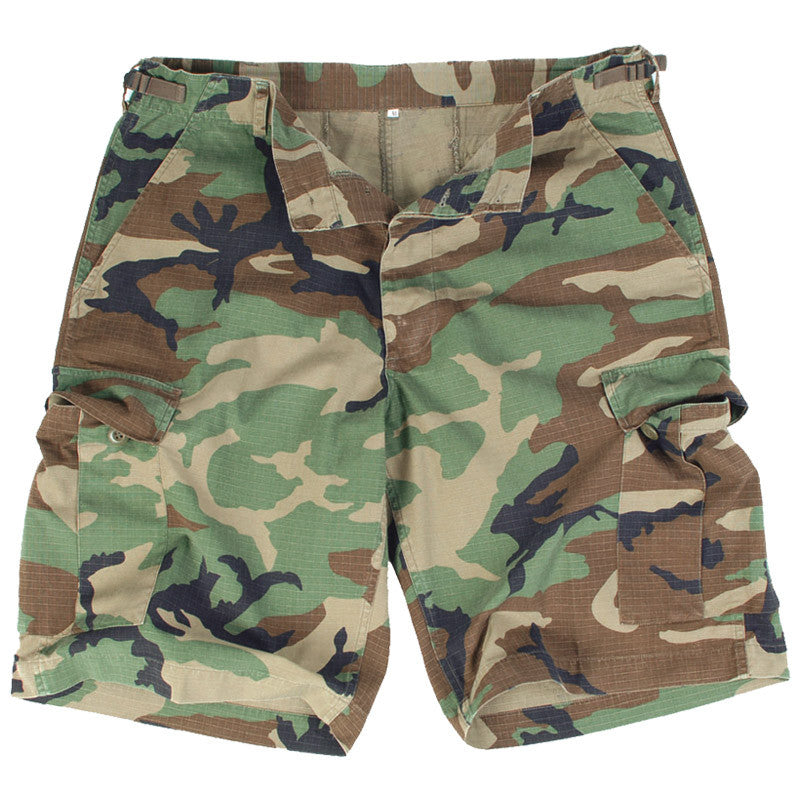 Surplus US BDU Shorts - Woodland - Niagara Quartermaster