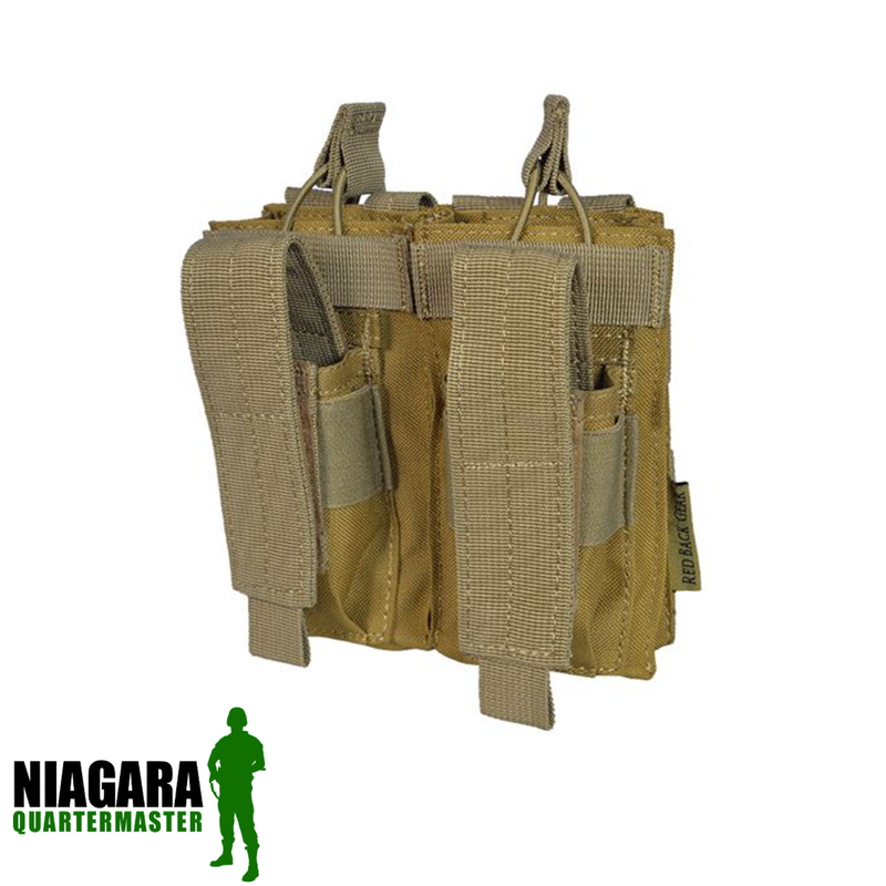 Shadow Elite AK/9mm Double Open Top Mag Pouch