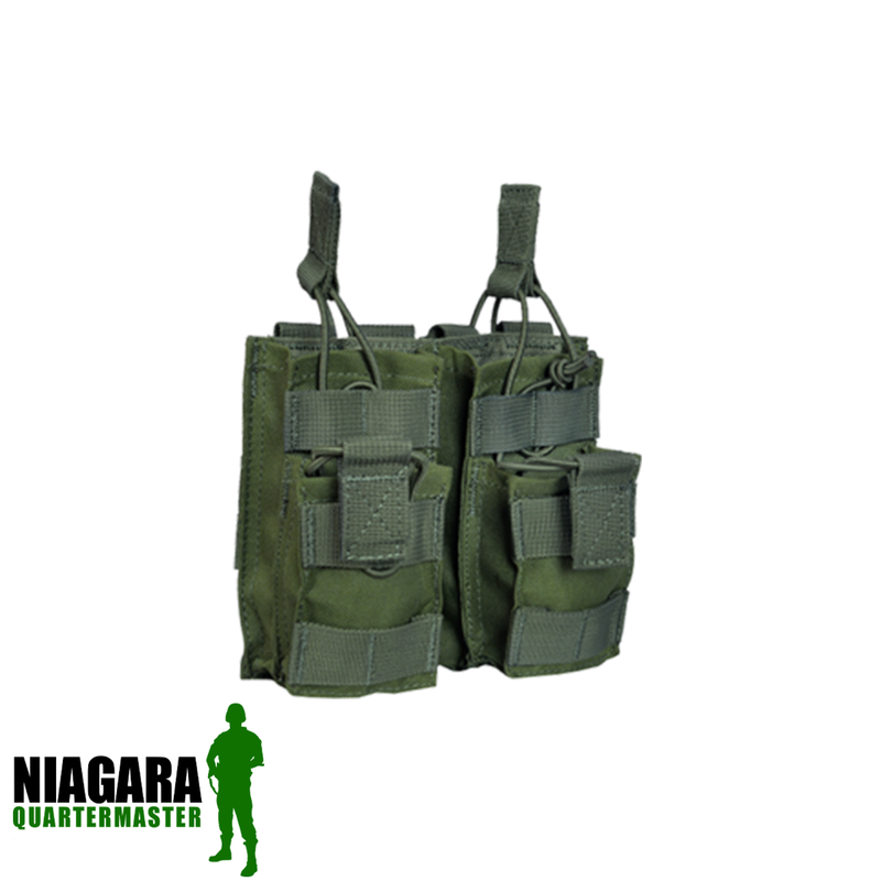 Shadow Strategic Double Open-Top Stacker M4 Magazine Pouch
