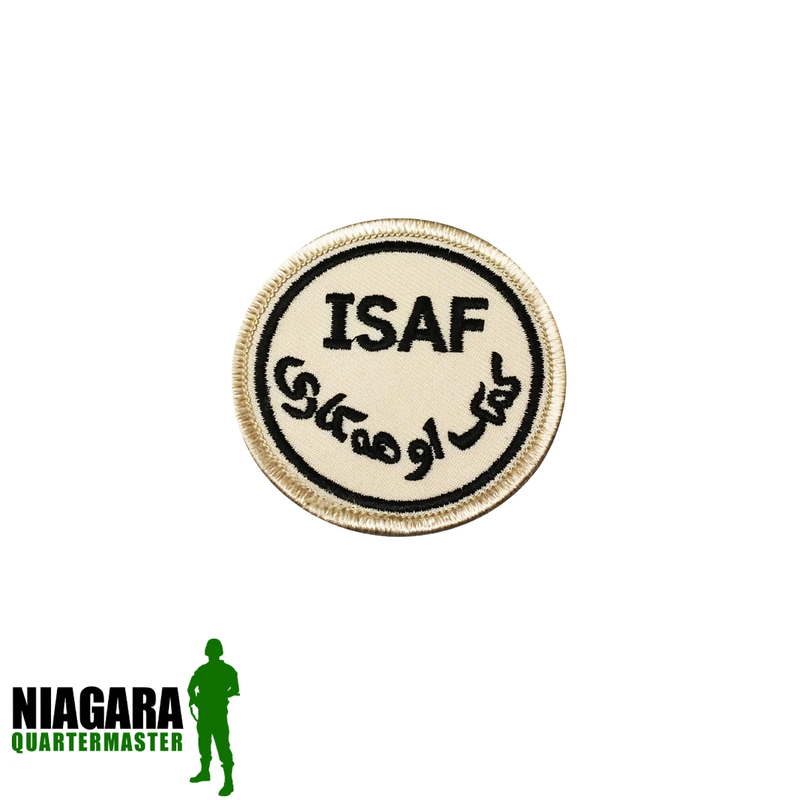 ISAF Patch - Desert / Small - Niagara Quartermaster