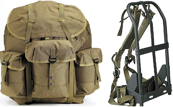 Alice Medium Pack with Frame - OD - Niagara Quartermaster