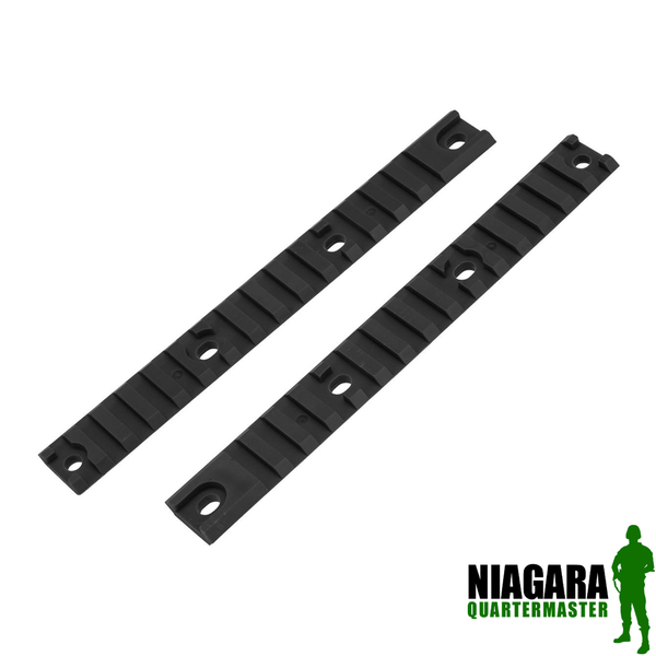 Airtech Studios Polymer 20mm Accessory Rail for AM013 and AM014 Airsoft AEGs