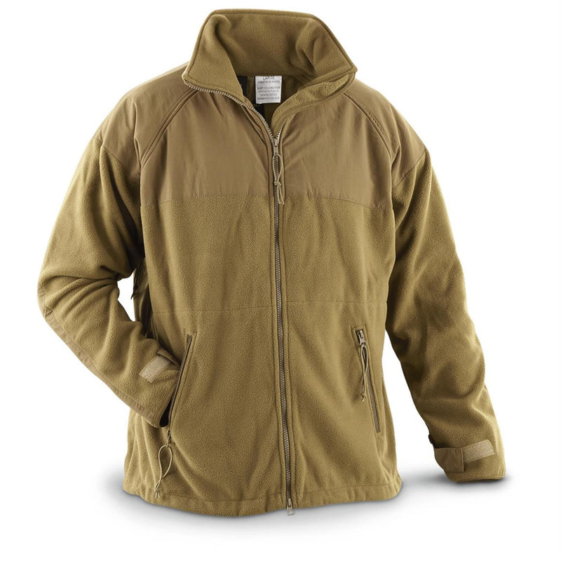Surplus USMC Polartec Fleece Jacket - Coyote - Niagara Quartermaster