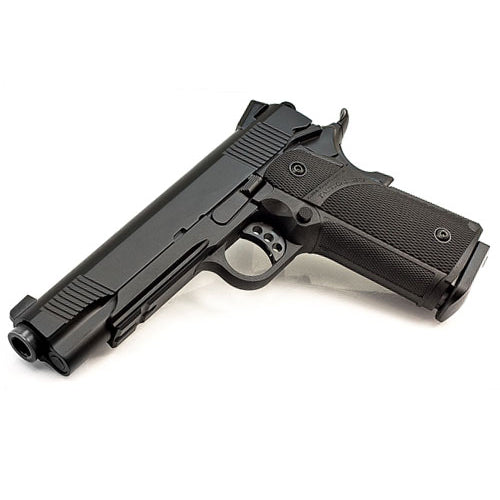KJW 1911 Full Metal CO2 GBBP - Black - Niagara Quartermaster