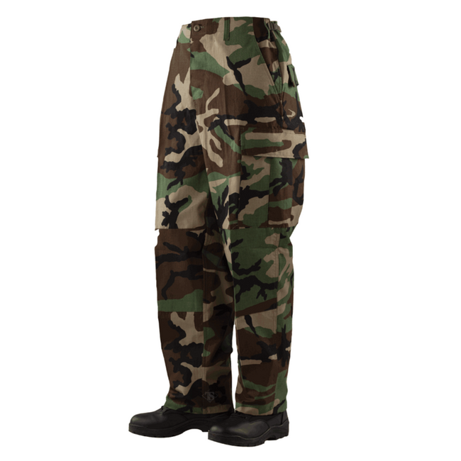 Tru-Spec Tactical Response Pants - NYCO - Woodland