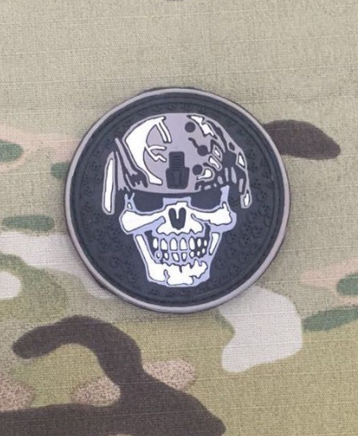 Warrior Skull Patch - Niagara Quartermaster