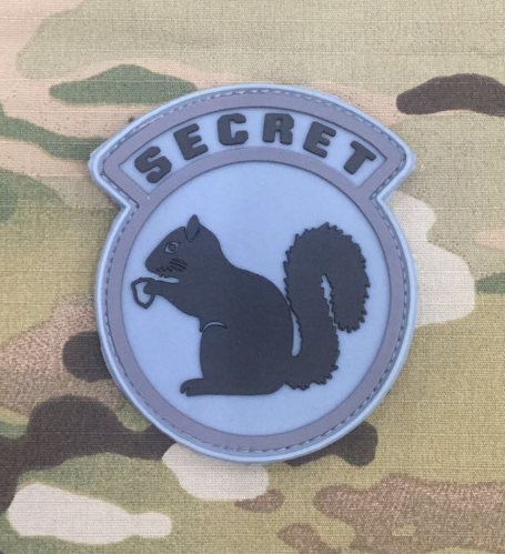 Secret Squirrel Patch - Niagara Quartermaster