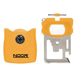 NDUR Survival Tool w. Compass - Yellow - Niagara Quartermaster