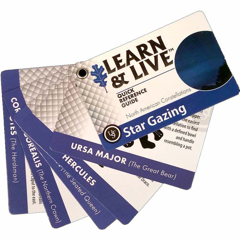Ultimate Survival Learn And Live Cards - Star Gazing - Niagara Quartermaster