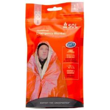 Adventure Medical Heatsheet Blanket - Orange - Niagara Quartermaster