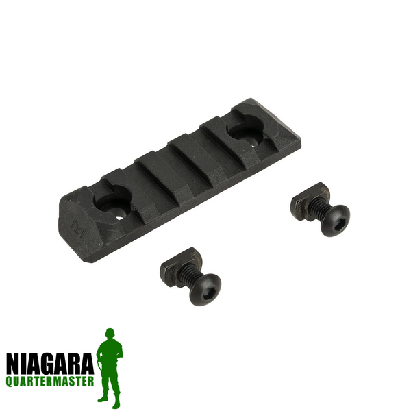 PTS Enhanced Picatinny M-Lok Rail Section - 5 Slots - Niagara Quartermaster