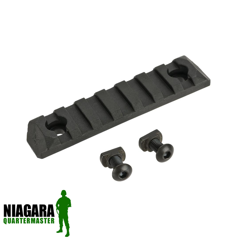 PTS Enhanced Picatinny M-Lok Rail Section - 7 Slots - Niagara Quartermaster