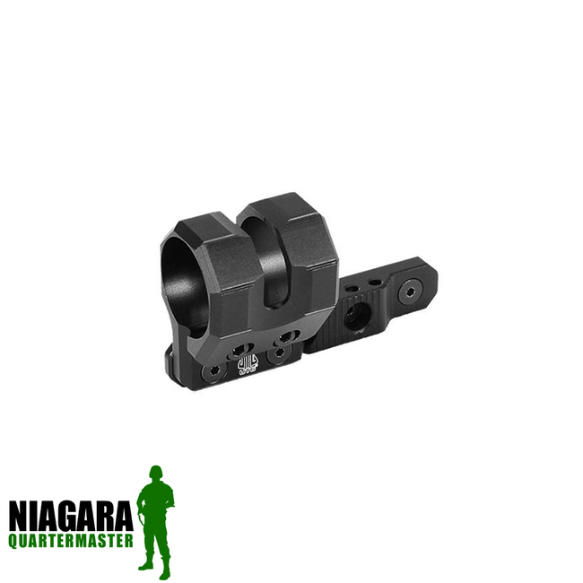 UTG M-LOK® Offset Flashlight Ring Mount - Black - Niagara Quartermaster