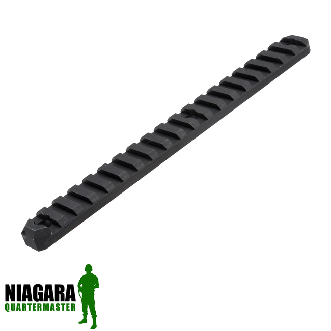 AIM Sports 20mm Accessory Rail for Keymod Handguards - 15 Slot - Niagara Quartermaster