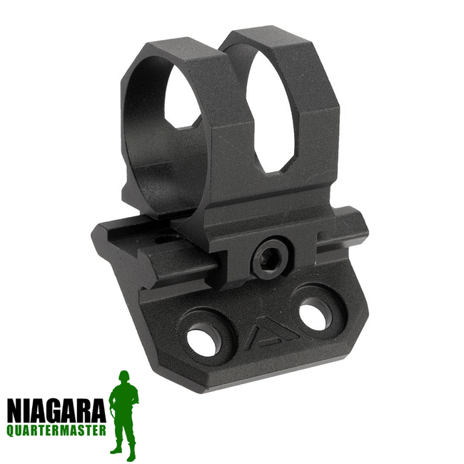 "AIM Sports 45 Degree Offset M-LOK Mount for 1"" Flashlights - Niagara Quartermaster"
