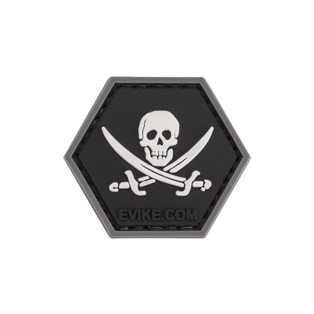 """Operator Profile PVC Hex Patch"" - Jolly Roger"