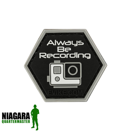"""Operator Profile PVC Hex Patch"" - Recording - Niagara Quartermaster"