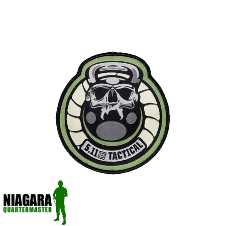 "5.11 Tactical ""Hangman Patch"" - Sand - Niagara Quartermaster"