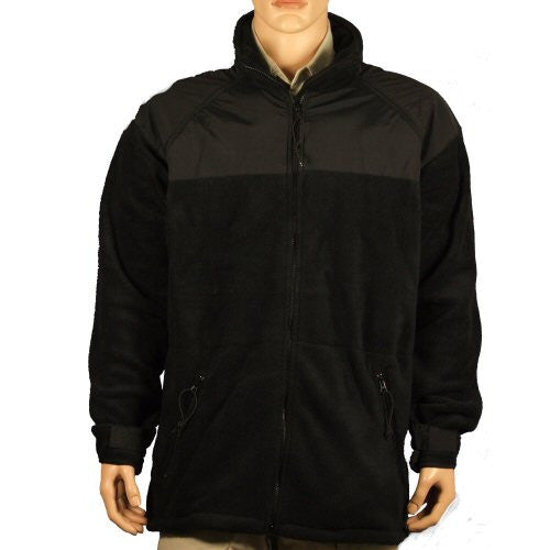 Surplus US Spear Fleece Jacket - Black - Niagara Quartermaster