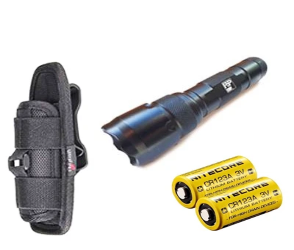 PSP Corp. Flashlight Tactical Torch Kit