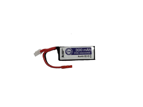 Airsoft Logic 7.4v 300Mah Li-po HD Battery for HPA Rifles