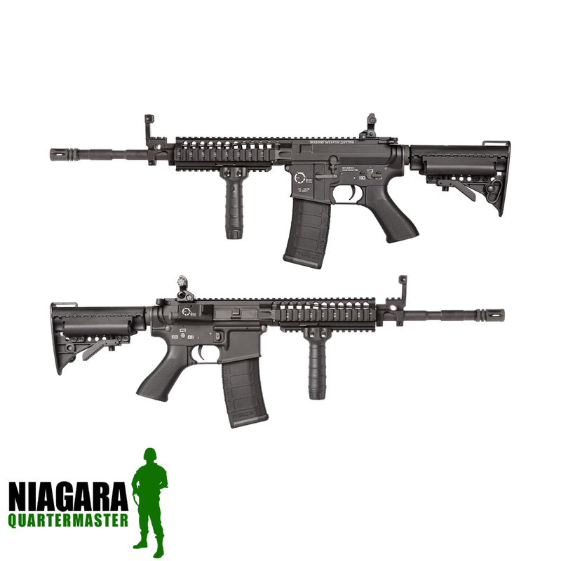 King Arms TWS VIS M4 Carbine - Black - Niagara Quartermaster