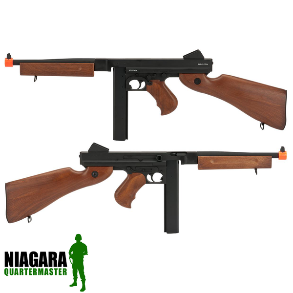 Cybergun M1A1 Thompson Full Metal Airsoft AEG Rifle