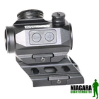 Precision Dynamics Tactical Red Dot Sight with High Mount