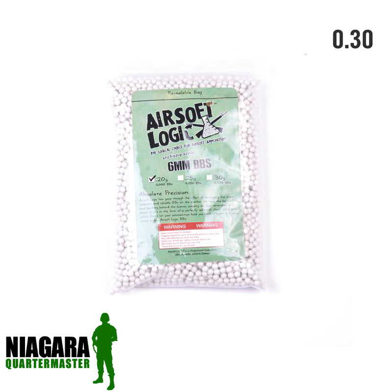 Airsoft Logic Biodegradable BBs - .30g x 3000