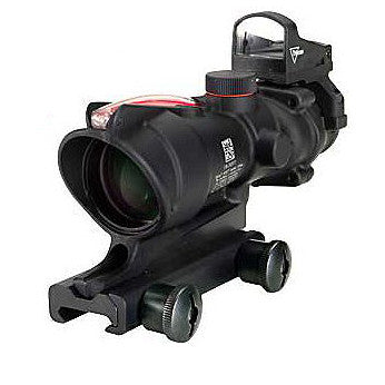 ACM ACOG Style 4x Magnified Scope with RDS - Black