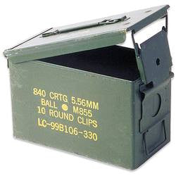 Ammunition Boxes - Niagara Quartermaster
