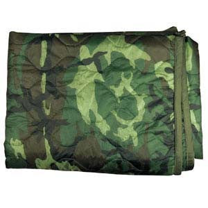 Surplus Canadian Forces Ranger Blanket/Poncho Liner - Woodland - Niagara Quartermaster