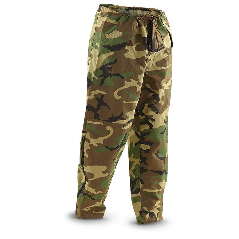 US Surplus Gore-tex Cold Weather Pants - Woodland - Niagara Quartermaster