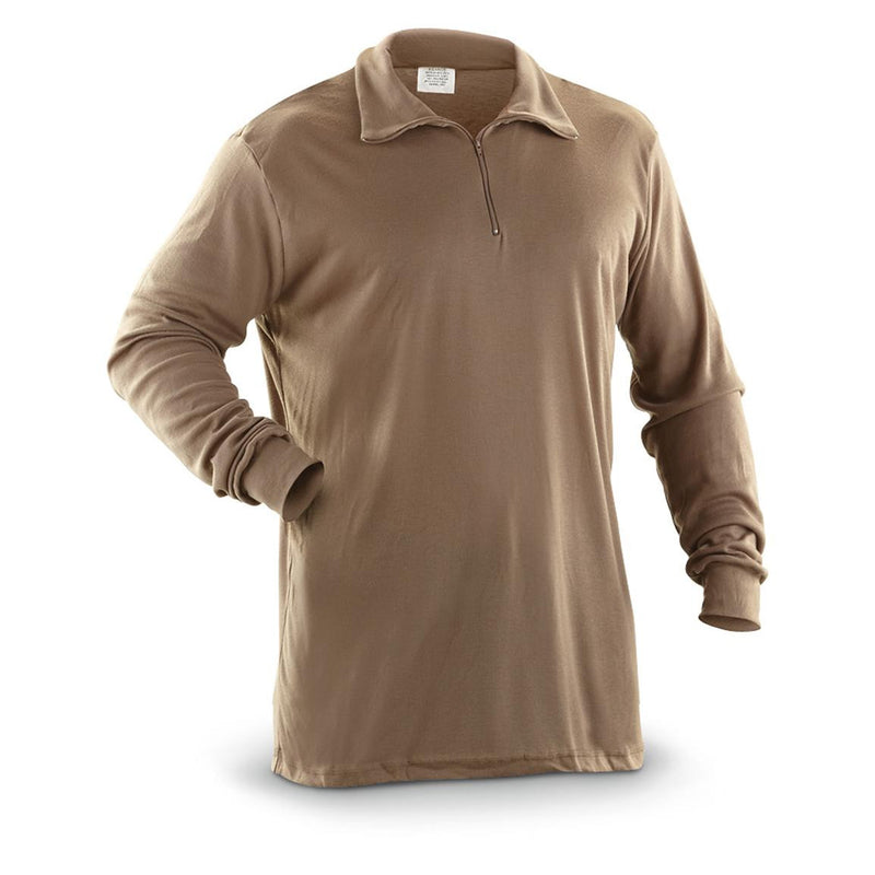 Polypro Base Layer Underwear - Brown - Niagara Quartermaster