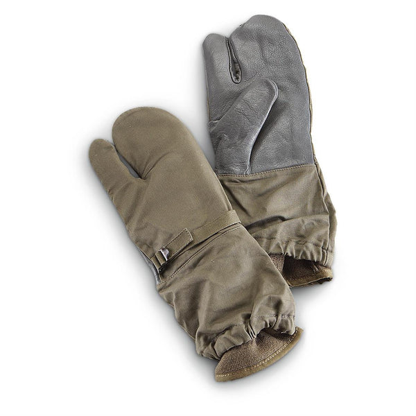 Surplus German Trigger Finger Mittens - Niagara Quartermaster
