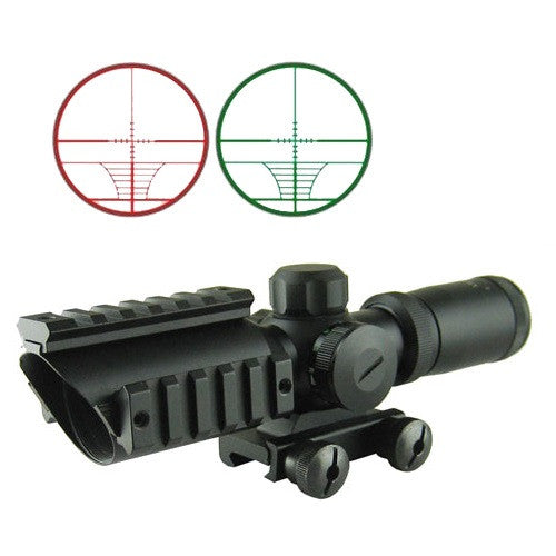 OP 1.5-5X Compact CQB Illuminated Scope - Black - Niagara Quartermaster