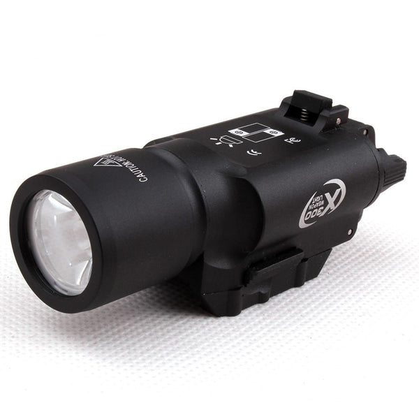 Precision Dynamics X300 QD Flashlight - Black - Niagara Quartermaster