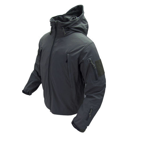 Condor Summit Tactical Softshell - Black - Niagara Quartermaster