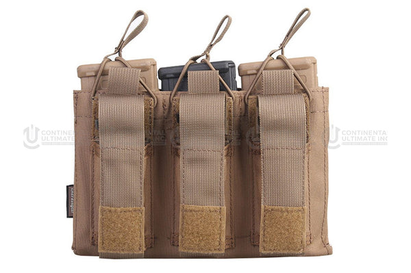 Emerson Gear 5.56mm/Pistol Open-Top Triple Mag Pouch
