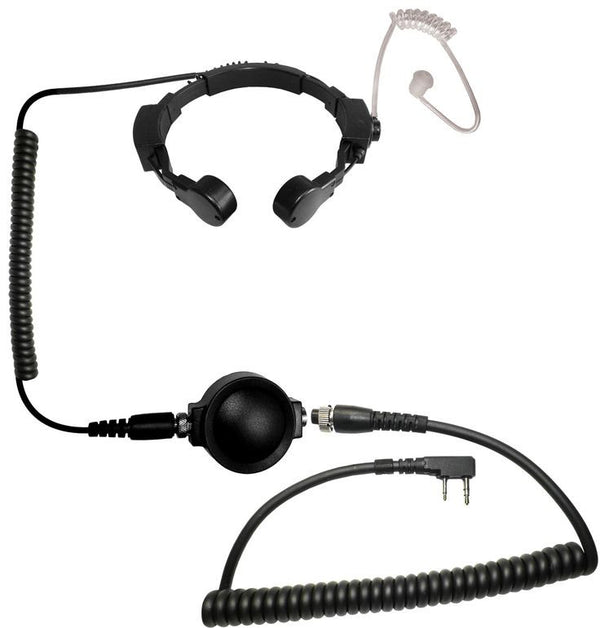 Code Red Headsets Close Quarters Boom Headset w/ PTT - Kenwood 2-Pin - Niagara Quartermaster