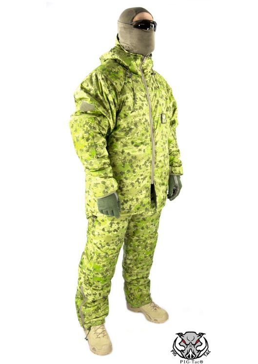 "PigTac Extreme Cold Weather Suit ""Sleeka Walrus"" ECWS - OD - Niagara Quartermaster"