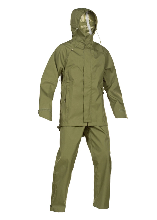 PigTac Aquatex Cyclone Waterproof Suit Mk.1 - OD - Niagara Quartermaster